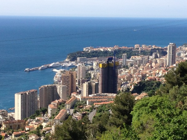 Monaco is an arresting sight on a spring morning during the Grand Prix week.