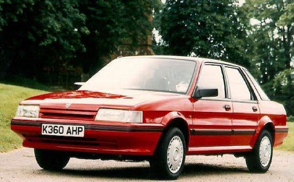 Montego - Austin Rovers family saloon car for the Eighties. Younger drivers bought them too