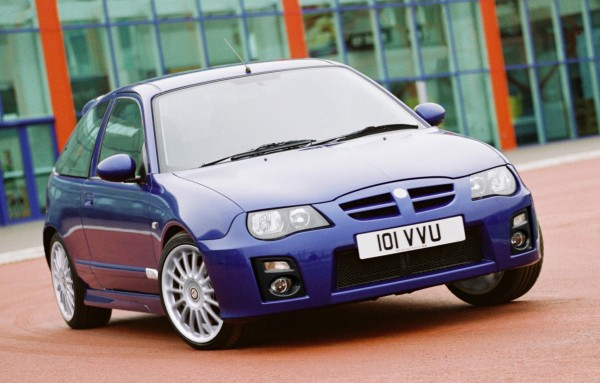 Despite the MG-Rover death, demand for used MG models especially the ZR remained.