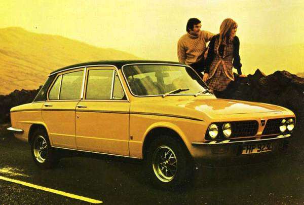 The Triumph SD2 was conceived to replace the Dolomite.