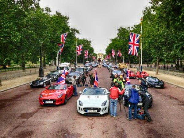 Top Gear Pall Mall