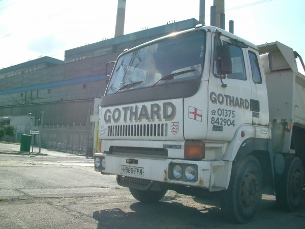 Tony Gothard claims that Leyland trucks have reliably shifted well over 2 million tonnes of ash and muck from the now redundant Tilbury power station.