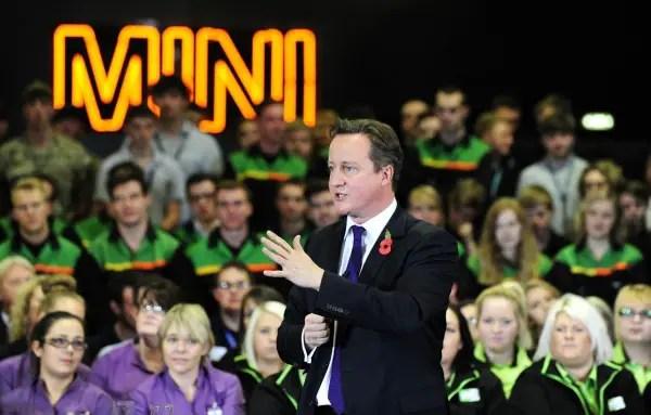David Cameron in Oxford