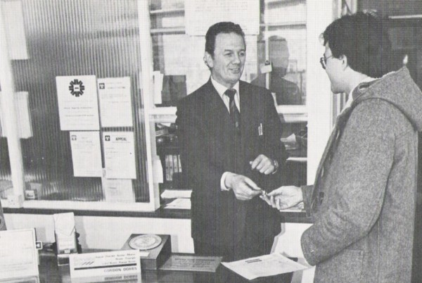 """""""No, we've checked with the factory Mr. Wilson, and the steering wheel in your Allegro is meant to be that shape..."""" Customer Handover 1981 style."""