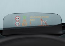 Head-up display is new to MINI