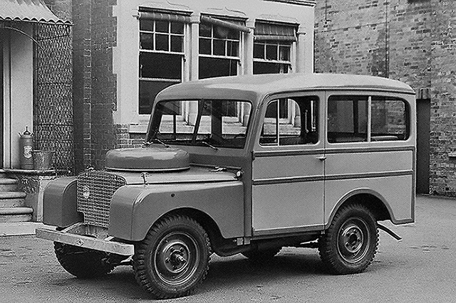 Land Rover 80in station wagon