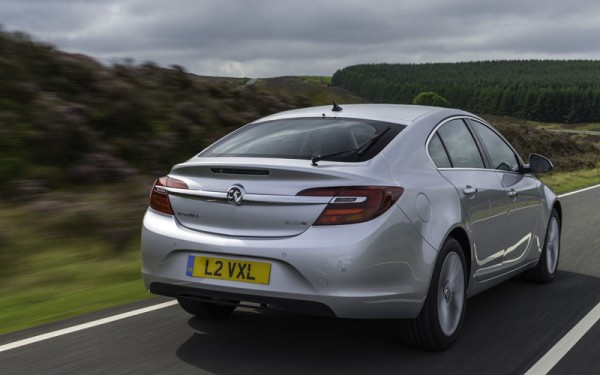 The new Insignia - It drives nicely, built as tight as a drum and really does deserve to do well.