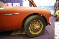 This big Healey 100/4 was stored in a barn at less than 20k miles, still wearing the tyres fitted by the factory.