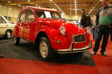 Factory new 2CV, sold quickly after show opening.