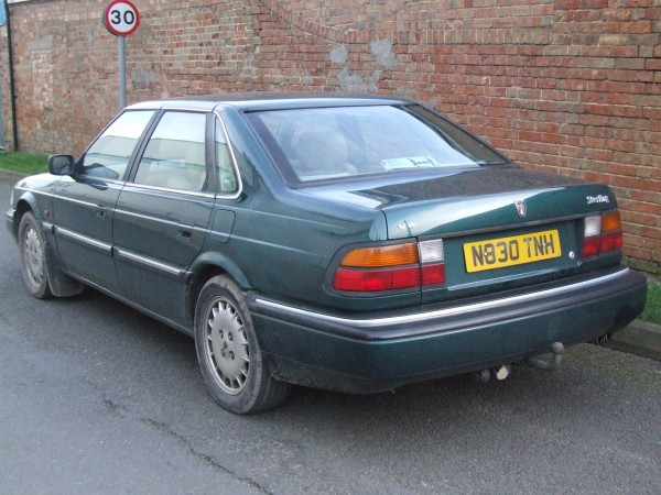 Likewise, the rear quarter only looks 'a bit dull' here. It was horrendous.