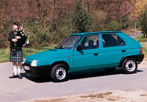 Skoda Favorit (1993), picture: Skoda Tradition
