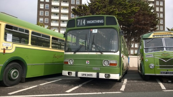 Our old friend Leyland National was in attendance - this was one of five that clacked their way to Worthing.