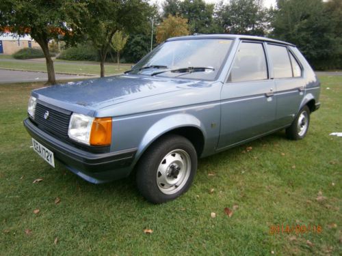 1982 Talbot Horizon has only covered 12,000 miles. Serious 'want' factor...