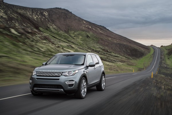 The shape of things to come... New Discovery Sport will appear in 2015