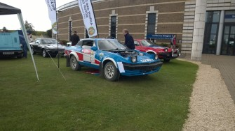 TR7 Rally car made a wonderful noise.