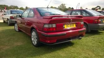 The range of R8s on display was impressive.