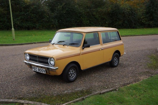 ...and normal as it may seem, here's the editor's favourite - a Sandglow Clubby Estate in unmolested original condition