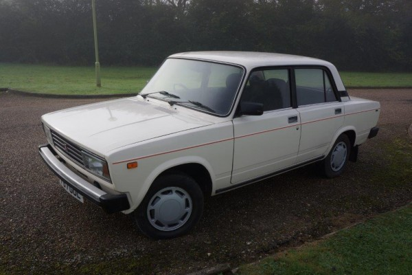 ACA's 7,000-mile from new Lada Riva. Any takers?