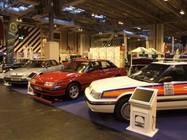 A fine display of Mk 1s from the Rover 800 Club