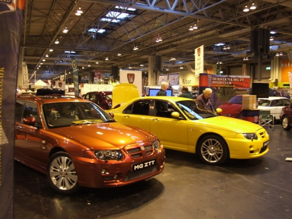Good to see MG Rover's last models well represented in the Rover Village, despite being merely a decade old.