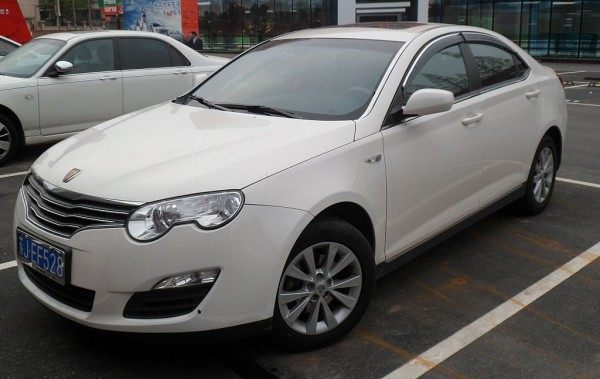 The Roewe 550 - China's Rover 45?