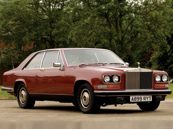 Not even Rolls-Royce could escape the excesses of the decade that taste forgot...