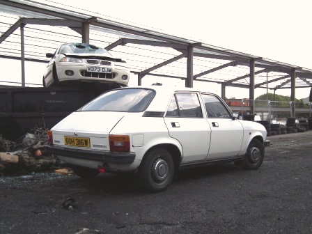Graham's not convinced that the Allegro looks good from any angle (I happen to disagree! - Ed)
