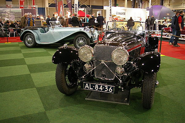 Jaguar SS90 (front) and SS100 (back)