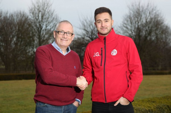Triple Eight Racing's Ian Harrison with new BTCC signing Jack Goff