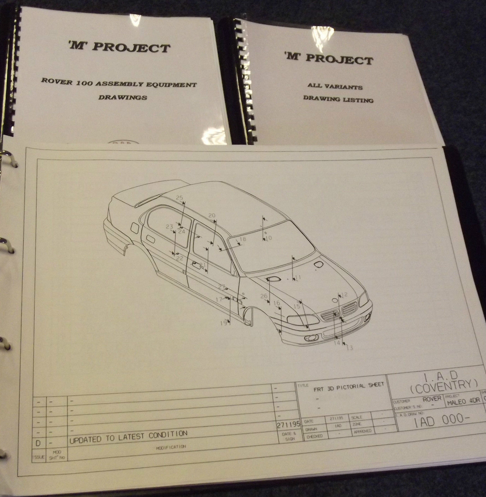 Ebay find of the week blueprints to make your own metro for Find blueprints
