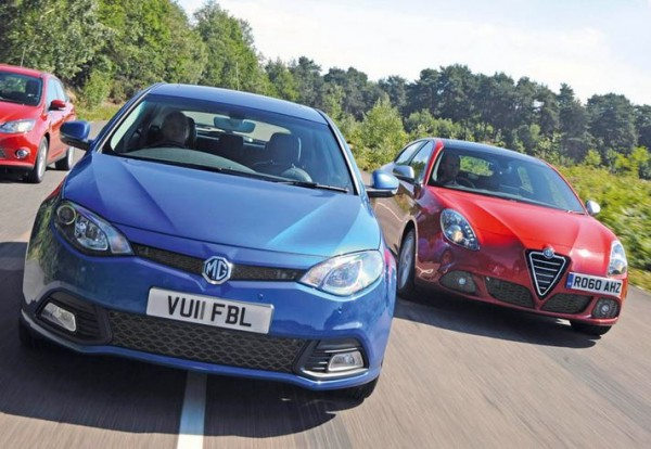 Two of the most iconic names in motoring history, as they are today. Photo credit: Auto Express