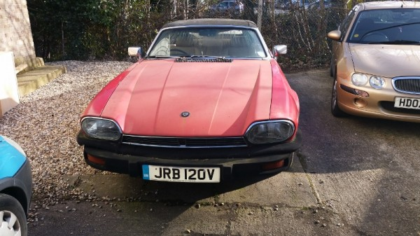 Mystery Jag pre-dates official XJ-S rag top by at least three years...