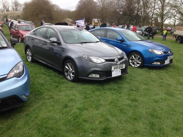Adrian has covered over 12,000 miles in his MG6, including the Cowley Convoy