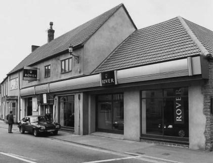 A.E. Wilcox and Son's premises in 1990