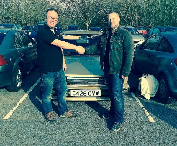 This isn't the first time Craig has bought a Vanden Plas off Danny. The last one was an Allegro, 13 years ago...