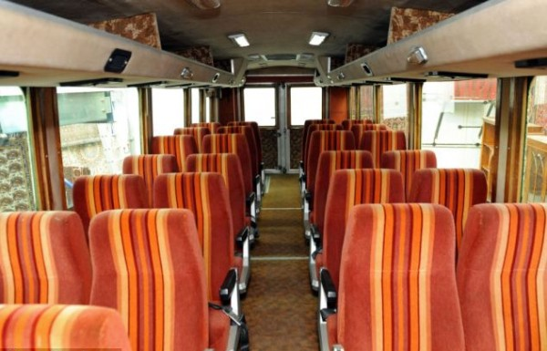 Seats 36 in air-conditioned comfort - what is there not to like?
