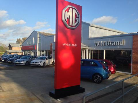 WH Brand's site today - surprisingly, the MG3 is the fastest-selling car the company has ever seen...