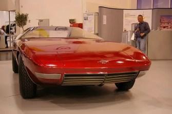 Opel CD, V8 Coupé design experimental car
