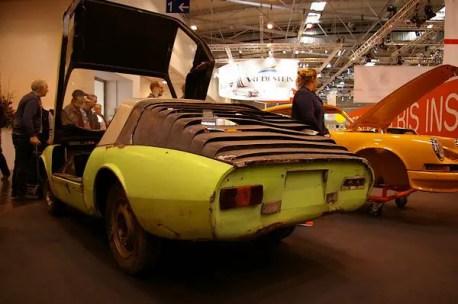 Design study from Aachen University's students, 1971, Porsche 911 based.