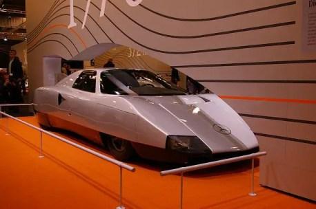 Mercedes C111 III Diesel record car