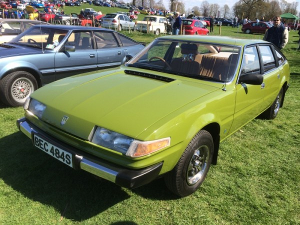 SD1 2600 was the editor's Car of the Show purely for its originality (and wonderful Avocado hue)