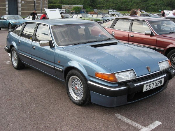 Kevin's favourite - the Rover SD1 Vitesse
