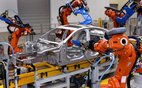 Jaguar XE production has commenced at Solihull