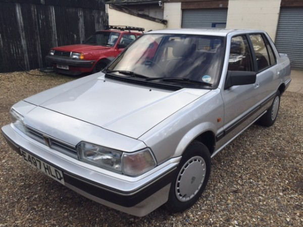 Rover 213S with 27k on the clock could make a nice modern-ish classic for someone