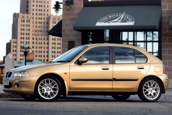 No amount of bling could make the Rover 25 look fresh and appealing
