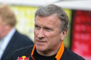 TWR boss Tom Walkinshaw, who died in 2010