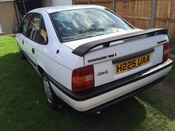 Cavalier 4x4s were rare when they were new...