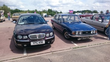 Rover-Triumph tussle - which would you have?