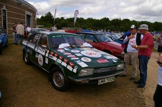 Princess 2200 - soon to be taking part in a charity rally