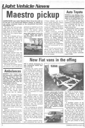 How Commercial Motor covered the story in 1985